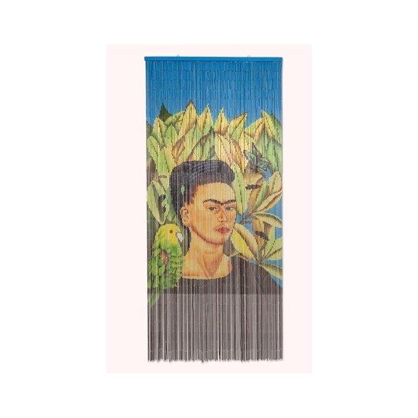Bambusforhæng Frida Kahlo med fugl