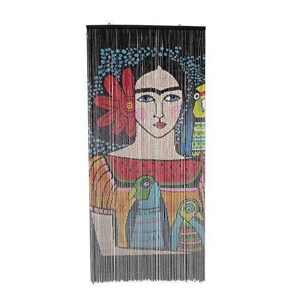 Bambusforhæng Frida Kahlo  Ny