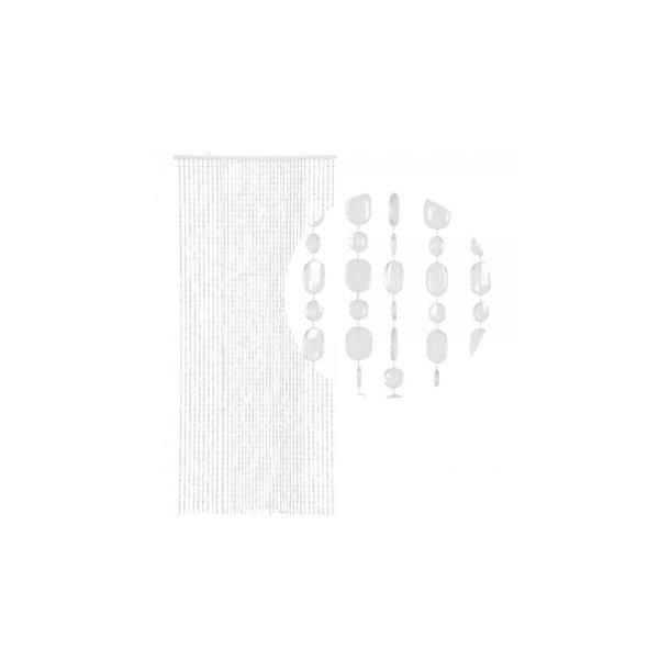 Perleforhæng - Klar - Oval Sequins